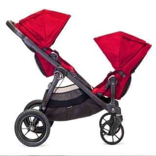 Baby Jogger's City select double stroller