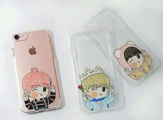 【WINK CHEEK Phone Case + Metal Sticker