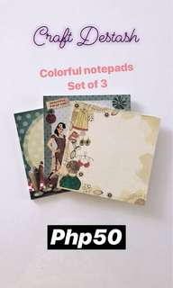 Set of 3 - Notepads from Invitation House