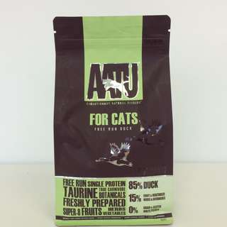 AATU Free Run Duck Dry Cat Food