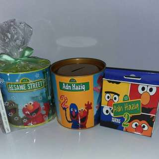 Customised Sesame Street Theme Goodie Packs