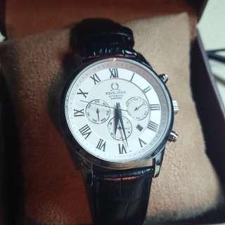 鐵達時 SOLVIL et TITUS 皮帶手錶 天長地久