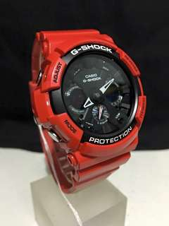 RED SERIES GSHOCK WATCH