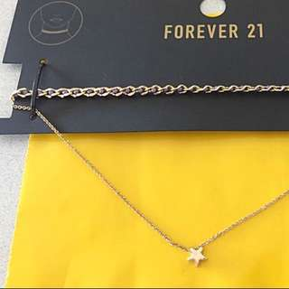 Brand New Auth Forever 21 Multi-Layered Choker