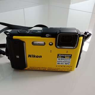 Nikon Coolpix AW130 Waterproof Digital Camera