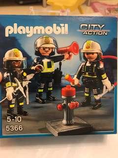 Playmobil 消防員套裝
