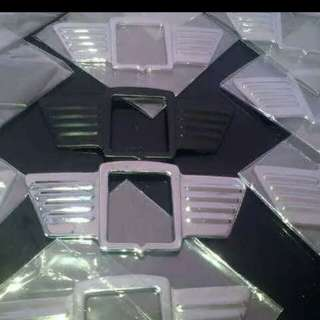 Vespa wing emblem chrome