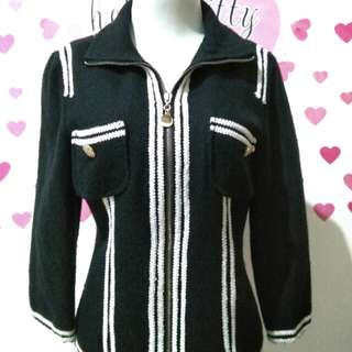 Black list white blazer
