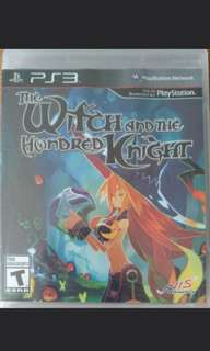 Ps3 The Witch and the Hundred Knight