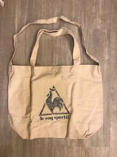 Le coq sportif 兩用大袋 tote bag