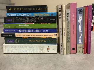 All types of books