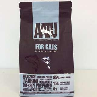 AATU Wild Caught Salmon & Herring Dry Cat Food