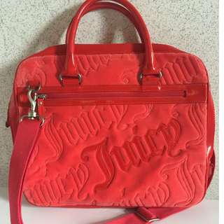 Auth Juicy Couture Laptop Bag