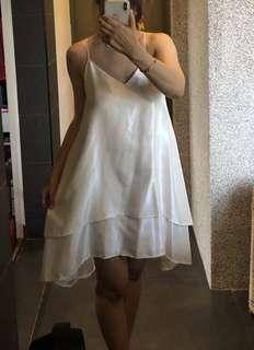 C/Meo White Dress