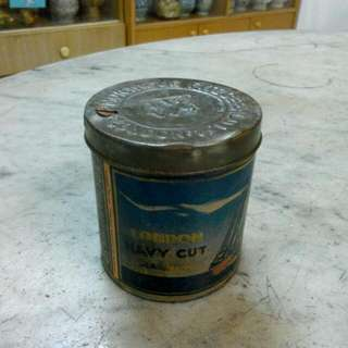 Montague Fitzgerald Ltd London Navy Cut Cigarettes Tin Vintage