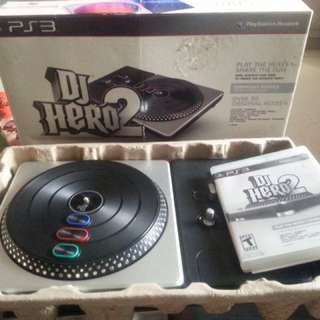 DJ HERO 2 With 1 Free PS3 Game