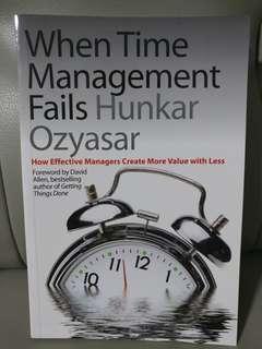 Enrichment Book - When Time Management Fails