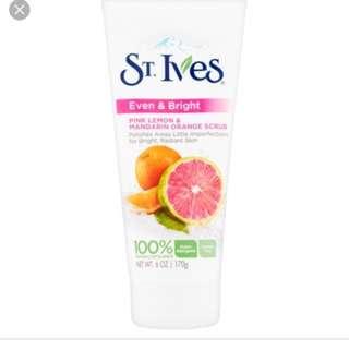 St ives pink lemon Scrub