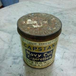 Capstan Navy Cut Cigarettes Tin Vintage