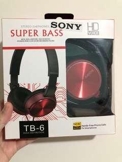 SONY SUPER BASS TB-6