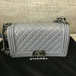Chanel Lambskin Boy Flap