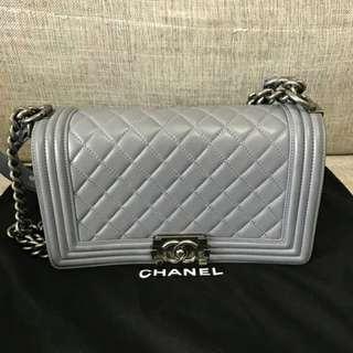 Chanel Lambskin Boy Flap