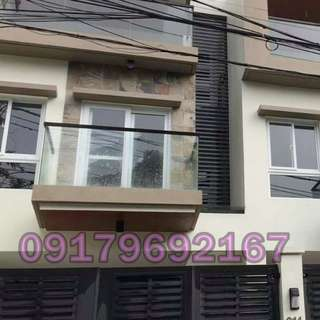 Brand New 3-Storey Townhouse For Sale - San Juan City