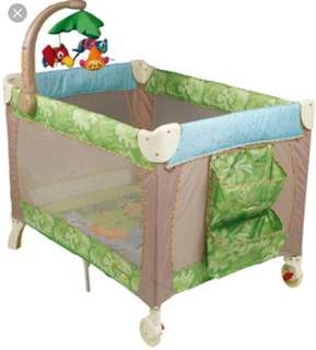 Fisher Price Playpan with musical,changer and bassinet