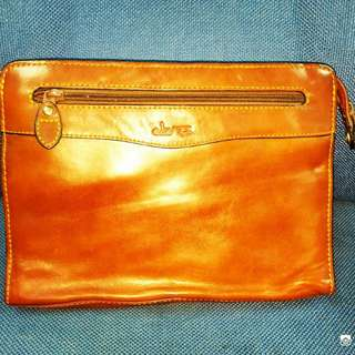 Clutch Bag Leather Wild Top