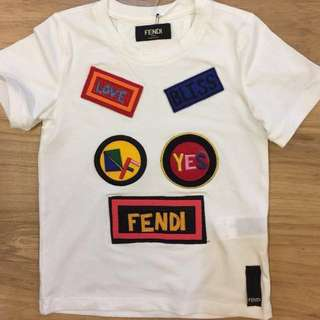 🆕👦🏻🧒🏻SALE🎉🛍 Authentic FENDI Tee for Age 2, 4 & 6 years old