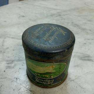 Himalaya Bouquet Toilet Powder Tin Vintage
