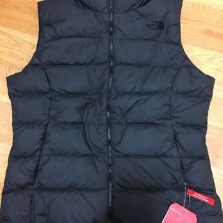 The north face vest jacket 700