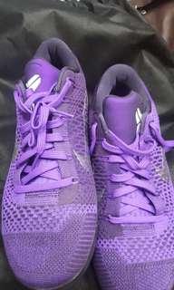 "Kobe 9 Em Premium ""moonwalker"" - Nike - 639045 515 - hyper grape/white-cave purple"