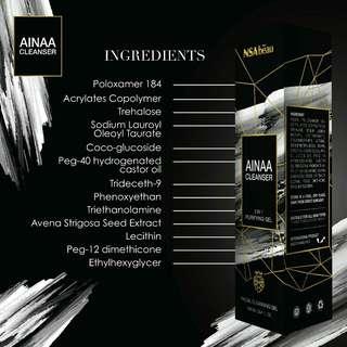 Ainaa Cleanser by Syafiqah Aina