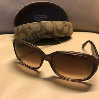 90% New COACH sunglasses