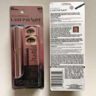 Loreal Lash Paradise Waterproof Mascara Black 203