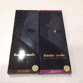 BN heroine make eyebrow and eyeshadow palette