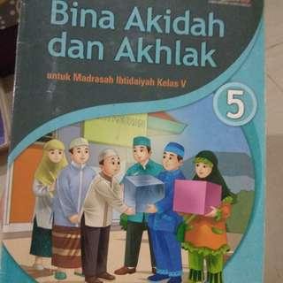 Buku Akidah kls 5 #UBL2018