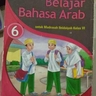 Buku bahasa Arab kls 6 #UBL2018