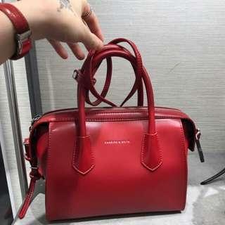紅色 小CK 手提包