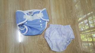 Preloved Baby Diaper Cover Set