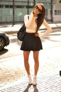 H&M Leather Skirts