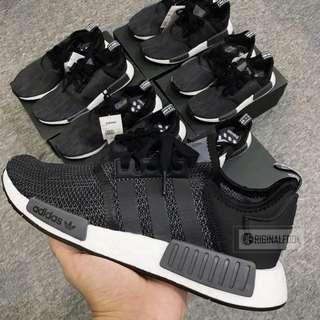 Adidas NMD R1 Carbon Grey Black
