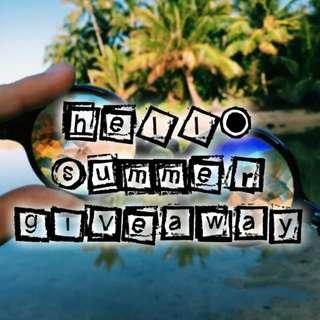 HELLO, SUMMER! GIVEAWAY