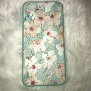 Floral Embossed Print for Iphone 7plus