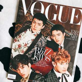 VOGUE [EXO Edition] Magazine