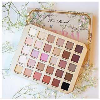 Too Faced Eyeshadow Palette Natural Love