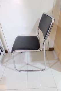 Chair (Silver Black)