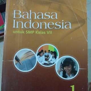 Buku bahasa Indonesia kls 7 #UBL2018