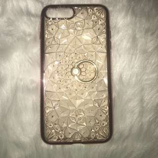 Floral Silicon Case for iphone 7plus